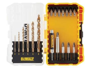 DT70711 Extreme 2 Metal Drill Drive Set, 19 Piece